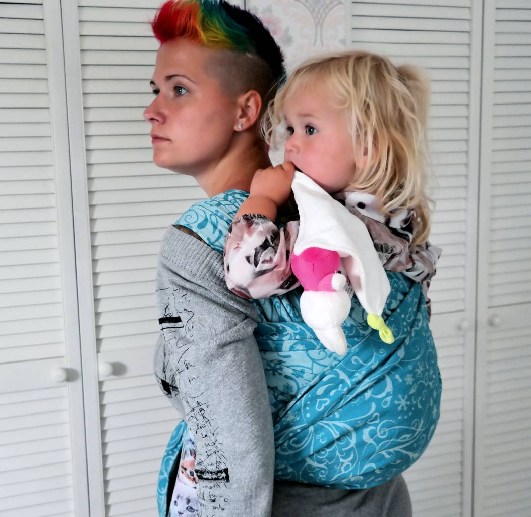 Review Pollora Iceflower Babywearing Reviews
