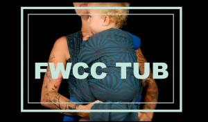 FWCC TUB - Front Wrap Cross Carry Tied Under Bum Image