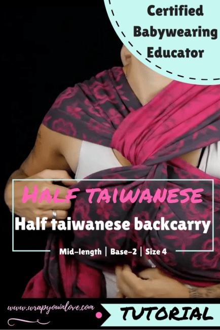 Half Taiwanese Backcarry Image
