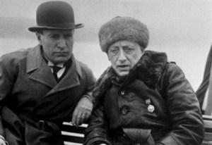 D'Annunzio and Mussolini