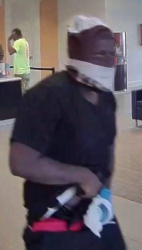 COLUMBUS: Bank robbery at Suntrust Bank