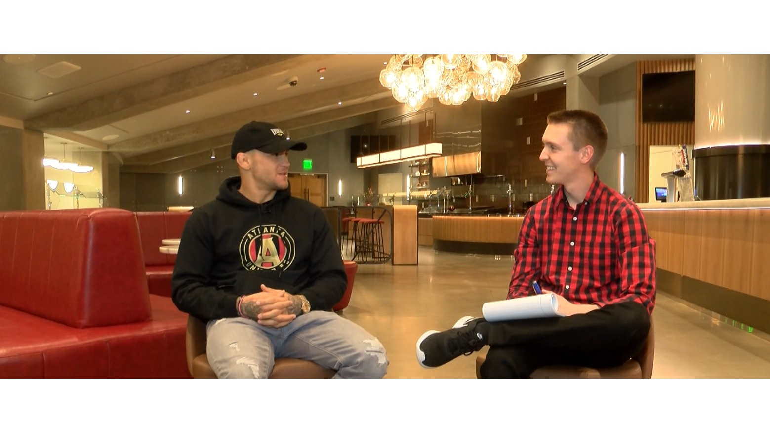 One-on-one interview with UFC fighter Dustin Poirier