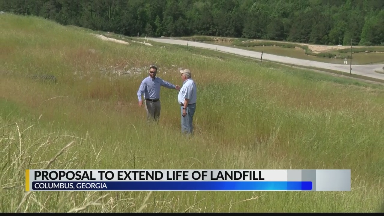 News 3 Evening Edition report on Pine Grove Landfill