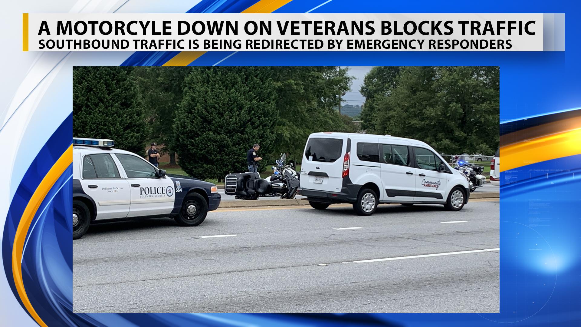 Motorcyle Down on Veterans_1560347331005.jpg.jpg