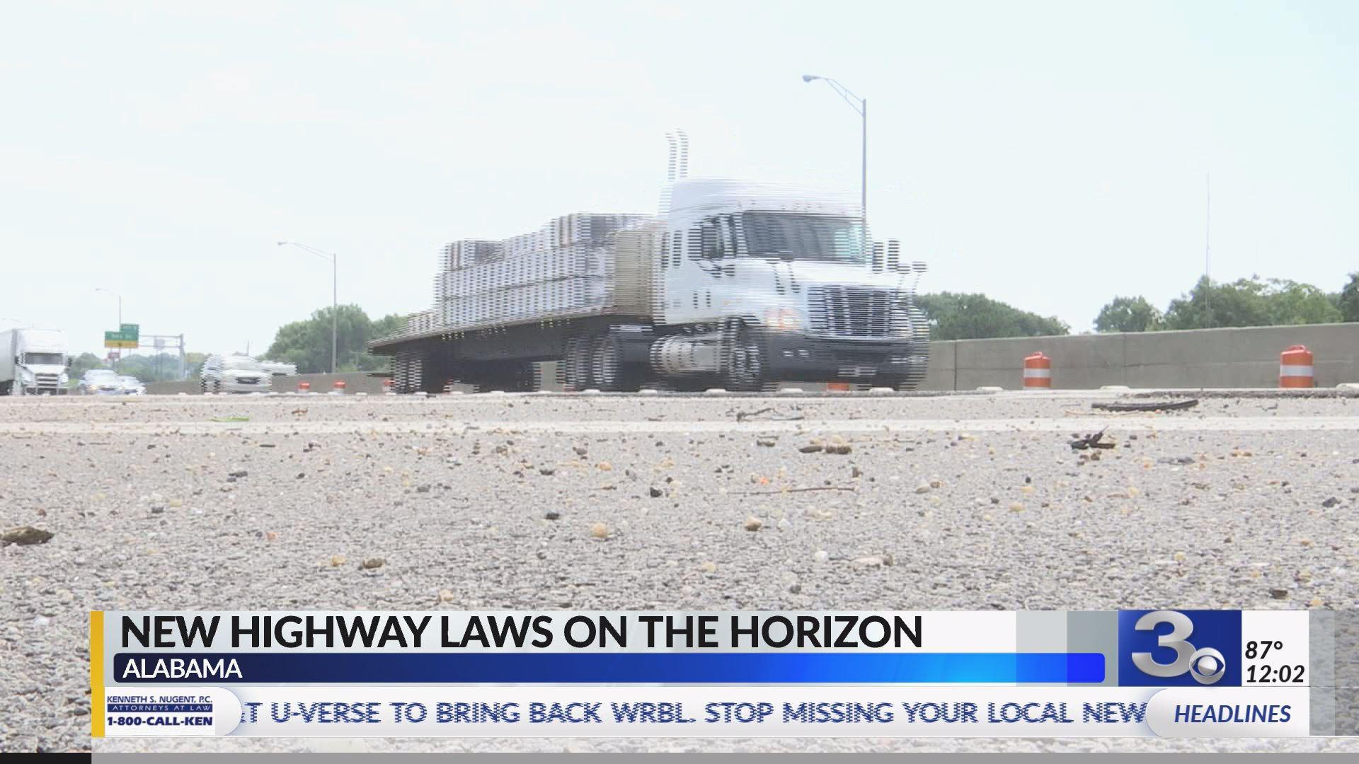 New highway laws Alabama | WRBL