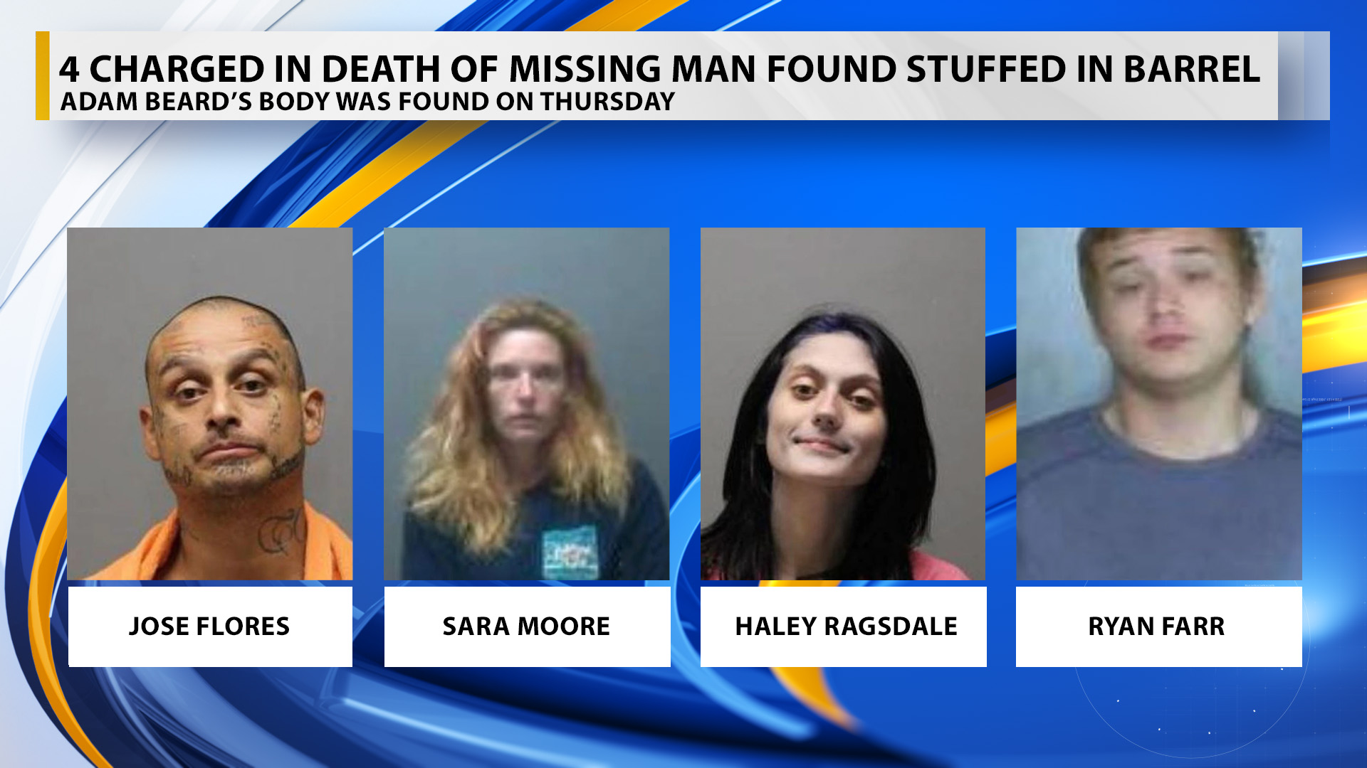 4 charged in death of missing man found stuffed in barrel | WRBL