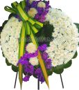 พวงหรีดดอกไม้ จัดแต่งสวย ส่งถึงที่