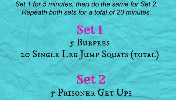 Made Ya Sweat EMOM Workout - Wrecking Routine
