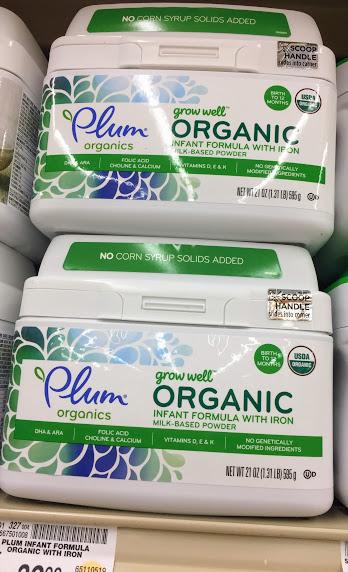 Plum Organic Grow Well Infant Formula