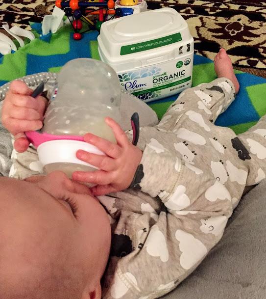 Plum Organics Grow Well Infant Formula