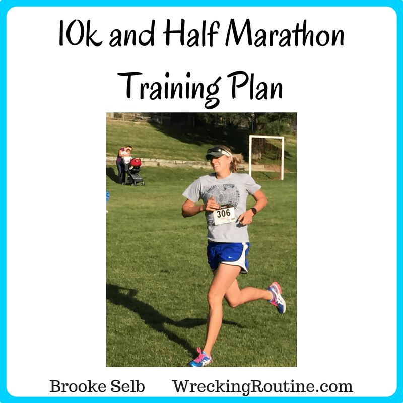 10k and Half Marathon Training Plan
