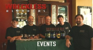 Wreckless Blenders Winery Events