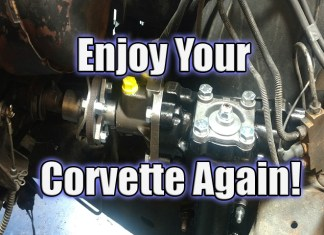 Borgeson Power Steering Upgrade for 1963 to 1982 Corvettes