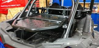 Assault Industries Adventure Rack Tire Carrier Install Polaris RZR Turbo S & XP1000