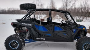 NEW Higher Factory UTV Tire Carrier For Polaris RZR XP Turbo S