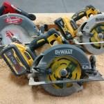 DEWALT FlexVolt 60V 7-1/4″ Circular Saw DCS578 Vs Power Detect 20V  DCS574 Vs Milwaukee M18 2732-20