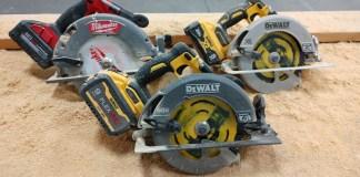 "DEWALT FlexVolt 60V 7-1/4"" Circular Saw DCS578 Vs Power Detect 20V DCS574 Vs Milwaukee M18 2732-20"