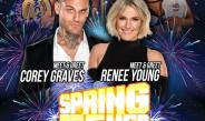 Corey Graves and Renee Young at MCW on Sunday, 3/31!