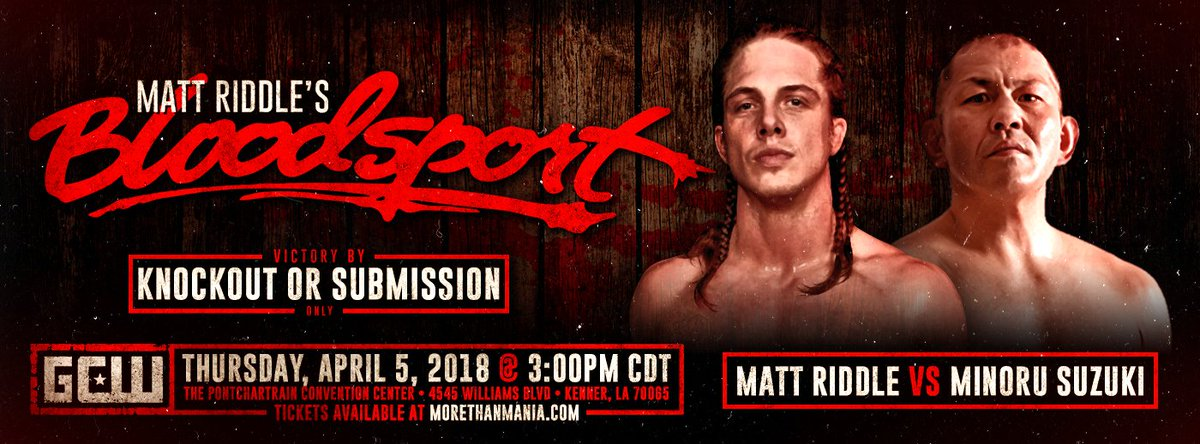 Image result for matt riddle bloodsport