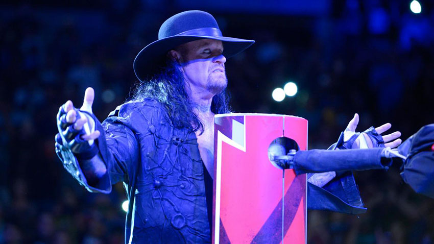 Takes Lesnar Brock Undertaker Out