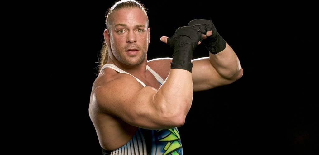 Rob Van Dam shows up at the Hall of Fame