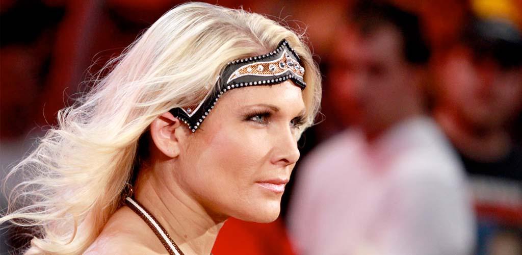 Randy Orton hits the RKO on Beth Phoenix on Raw