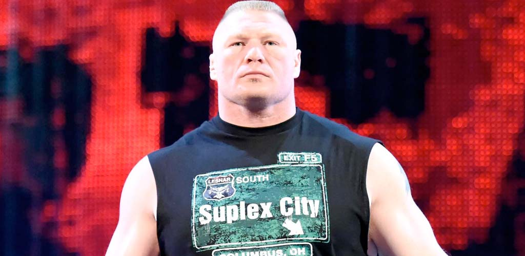Brock Lesnar signed new WWE deal on WrestleMania Sunday