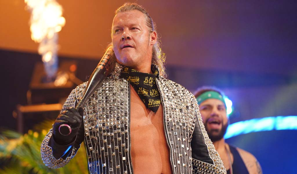 Jericho files trademark application for Million Viewer Man name