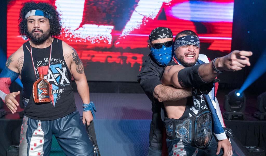 Former LAX members Ortiz and Santana make their All Elite Wrestling debut