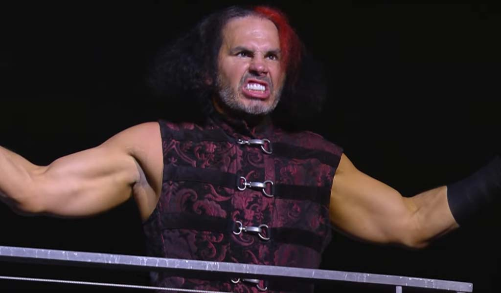 Matt Hardy suffers head injury at All Out, allowed to continue the match