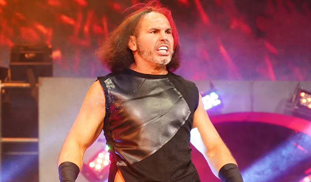 Matt Hardy says he's cleared to return to the ring