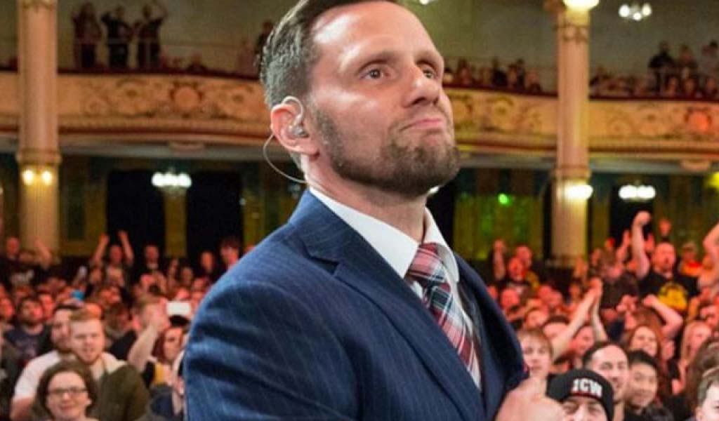 Nigel McGuinness back on commentary for NXT UK