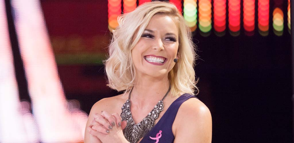 Renee Young replaces The Coach permanently on the Raw broadcast team
