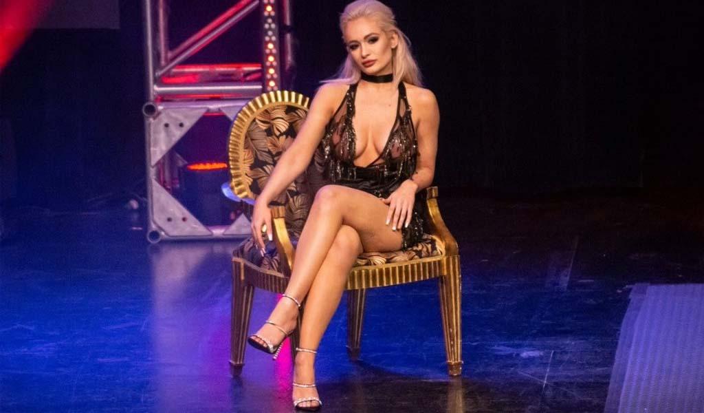 The Smokeshow Scarlett Bordeaux arrives in NXT!