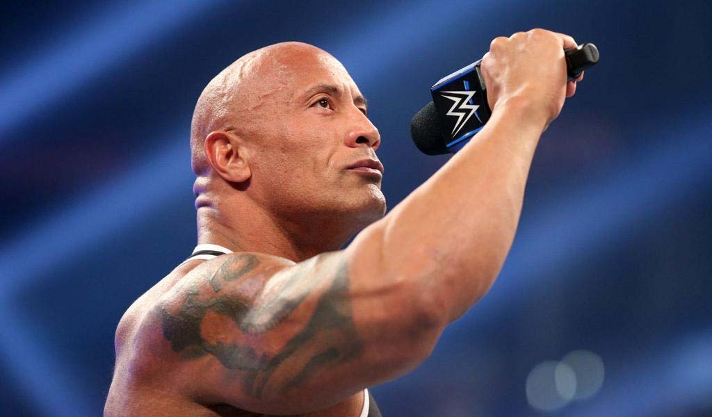 The Rock inducts Ken Shamrock into the Impact Wrestling Hall of Fame