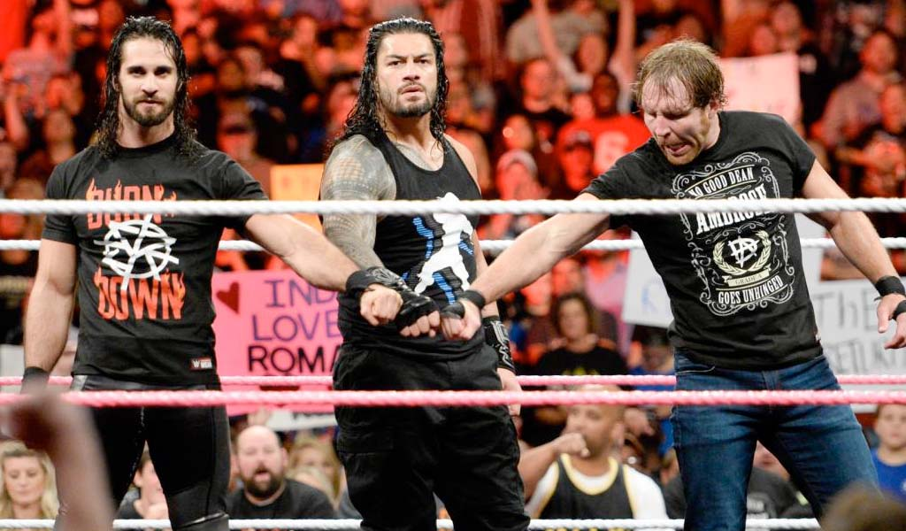 The Shield reunites on Raw and take out Braun Strowman