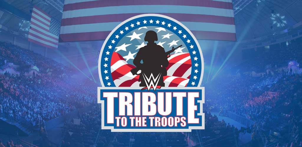 WWE visits military installations in San Diego for Tribute to the Troops