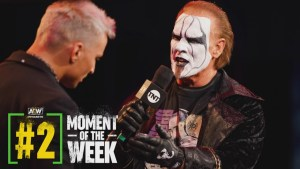 Sting's AEW Debut Match Confirmed
