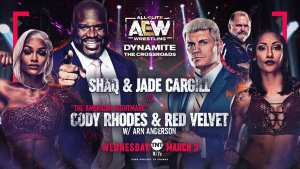 AEW Dynamite Live Coverage: Shaq In Tag Team Action, Paul Wight Debuts, Women's Finals