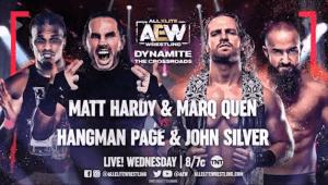 AEW Dynamite Match Gets Changed