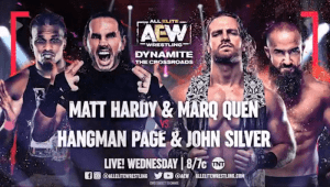 AEW Dynamite Match Gets Changed