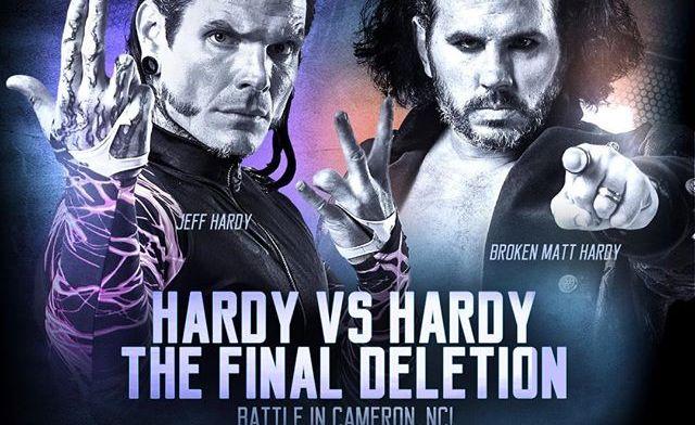 the final deletion - matt hardy vs jeff hardy