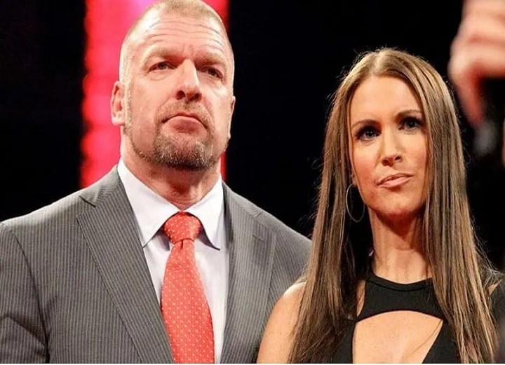 Triple H crying over Stephanie Mcmahon