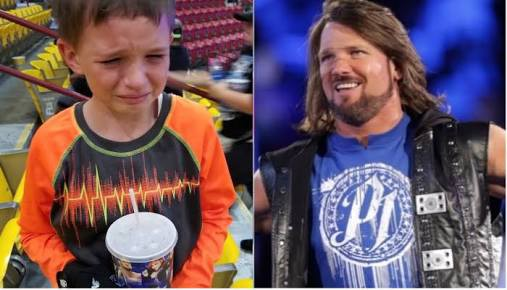 Son Passes Away Leaving WWE Star AJ Styles brokenhearted