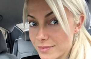 Alexa Bliss beautiful face