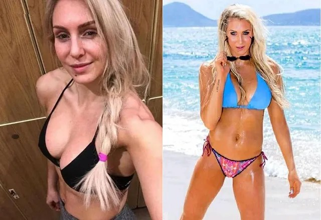 Charlotte Flair bikini photo