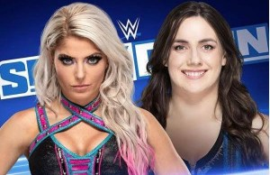 alexa Bliss and nikki cross smackdown