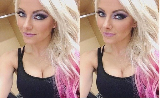 Alexa Bliss boobs