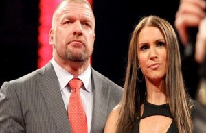 Triple h Stephanie Mcmahon