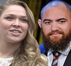 Ronda Rousey and Husband Travis Browne